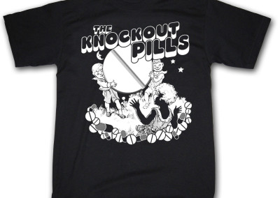Knockout Pills T-shirt (2002) by Jason Willis
