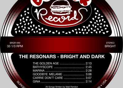 Resonars - Bright and Dark - LP Label 01 (Burger, 1999/2011)