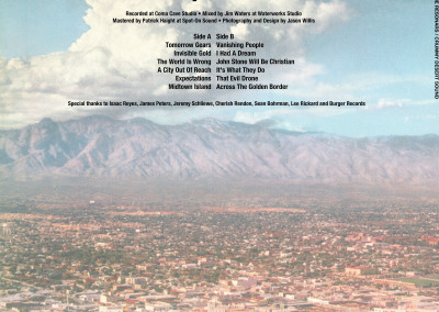 Resonars - Crummy Desert Sound - LP Back (Burger, 2012)