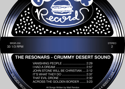 Resonars - Crummy Desert Sound - LP Label 02 (Burger, 2012)