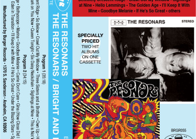 Resonars - The Resonars/ Bright and Dark - Cassette (Burger, 2010) by Jason Willis