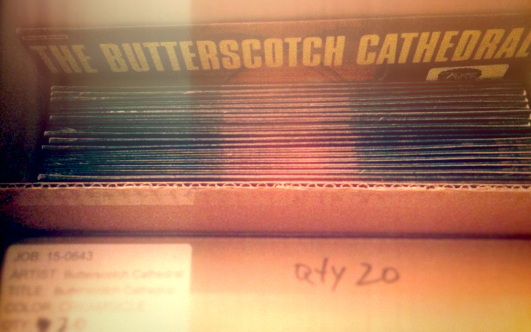 The Butterscotch Cathedral – LP Cover – Graphic Design