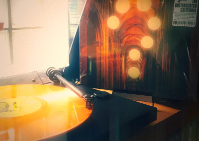 The Butterscotch Cathedral - Colored Vinyl LP - Photo by Bill Roe/ Trouble in Mind Records