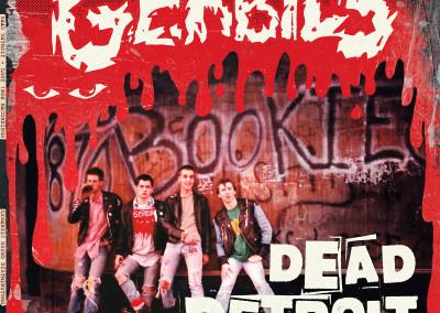 """The Gerbils - """"Dead Detroit - Lost 1982 Recordings"""" - LP Cover Front"""