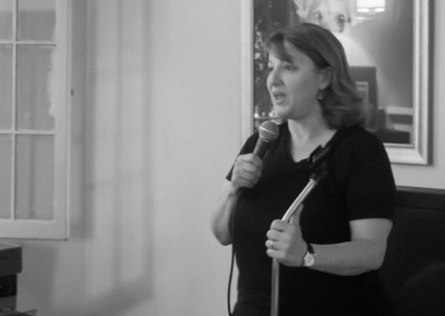 Stand Up Comedy Living Room Show - Jackie Kashian Performing 01