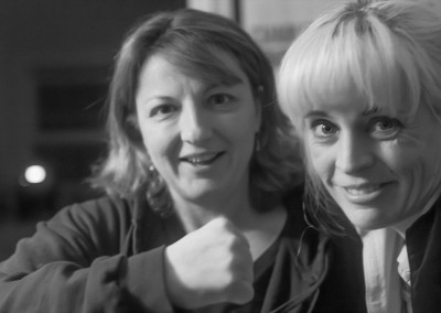 Stand Up Comedy Living Room Show - Jackie Kashian and Maria Bamford Hanging Out 03