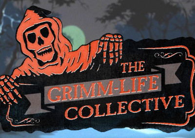 The Grim-Life Collective - 2D Logo Design/ Line Art