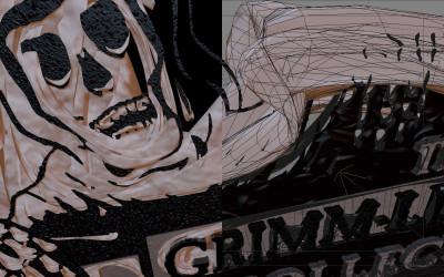 Grimm-Life Collective – 3D Motion Graphics + Logo Design