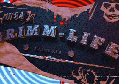 It's a Grimm Life - 3D Motion Graphics Video Intro 02