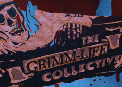 The Grimm-Life Collective - 3D Motion Graphics Video Intro 02
