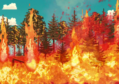 Mt Lemmon Science Tour - Motion Graphics - Forest Fire History 03
