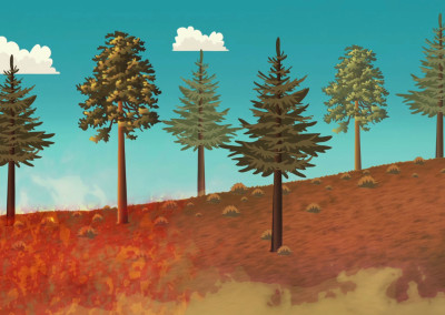 Mt Lemmon Science Tour - Motion Graphics - Forest Fire History 02