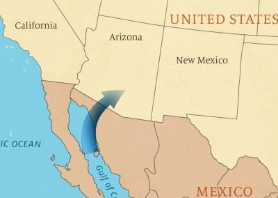 Mt Lemmon Science Tour - Motion Graphics - Arizona Monsoon 01