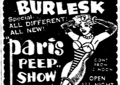 Detroit's Stone Burlesk - Print Ad: 6-29-1959