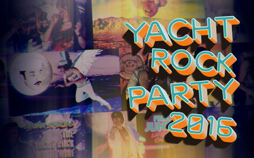 Yacht Rock Party 2016 – Promotional Video – Motion Graphics