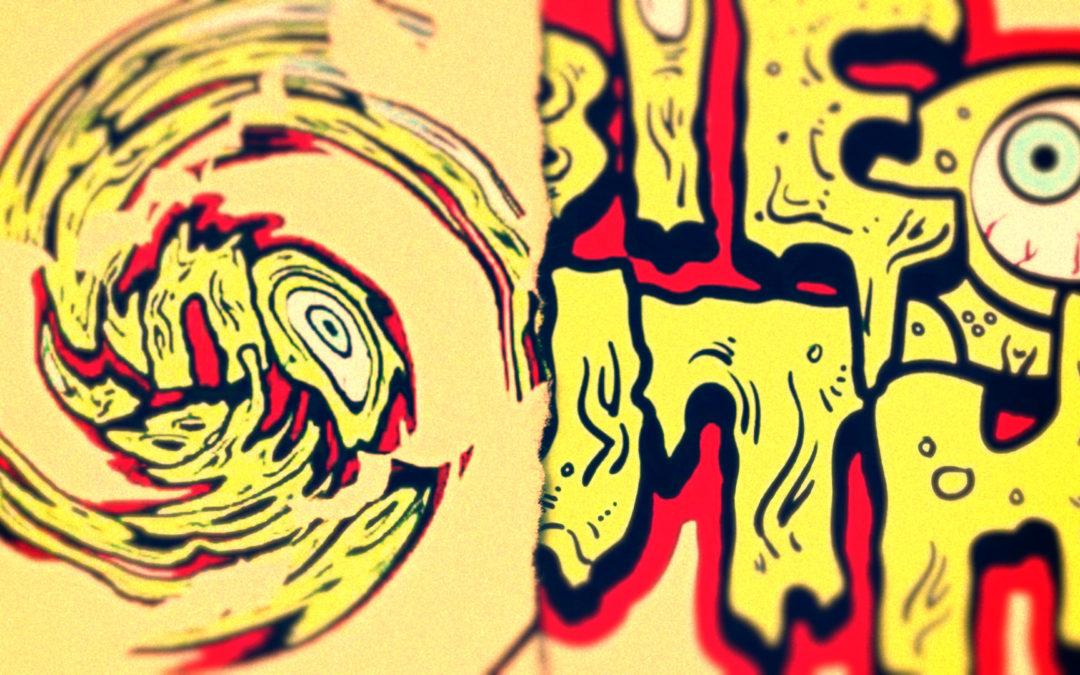 Zombie Mouth Bubblegum – Logo Animation – Motion Graphics