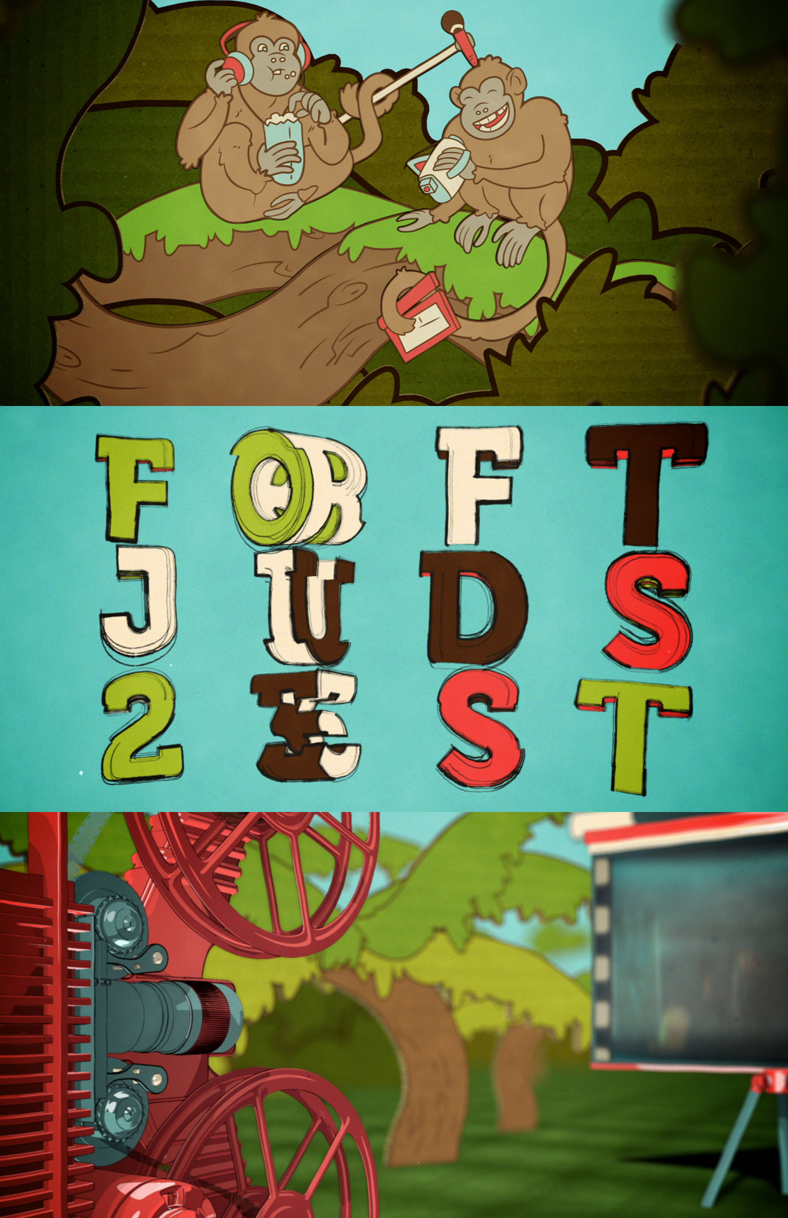 Loft Kids Fest 2016 - Animated Promo Trio