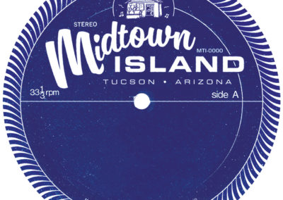 Midtown Island Records Label - Side A