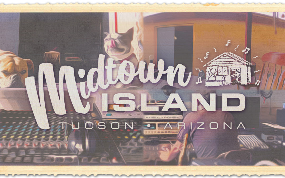 Midtown Island Records – Logo and Label Design
