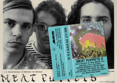"Meat Puppets - ""Monsters"" era promotional photo and cassette release of ""II"""