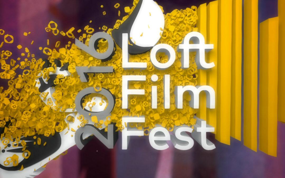 Loft Cinema – Loft Film Fest 2016 – 3D Animated Promo